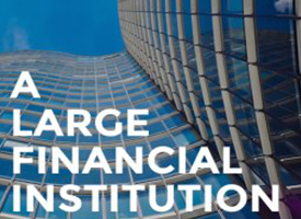 Large Financial Institution