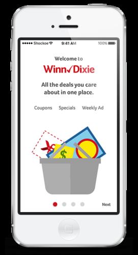 Winn Dixie grocery app