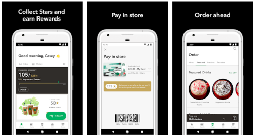 starbucks in-app purchases to drive customer and brand loyalty engagement
