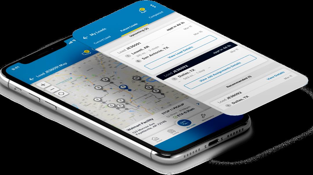 JB Hunt – Mobile Workforce App